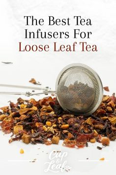 The Best Tea Infusers For Loose Leaf Tea - Cup & Leaf Whether you want to brew a single cup or serve up a large batch at your next tea party, there are tea infusers to suit your preferences. Check out our list of the best tea infusers for loose tea. Best Loose Leaf Tea, Loose Tea Infuser, Tea For Colds, Perfect Cup Of Tea, Cold Home Remedies, Peppermint Tea, Brewing Tea, Best Tea, Tea Blends