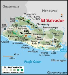 El Salvador... my motherland