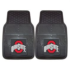 FANMATS Kansas City Chiefs Vinyl Floor Mats at Lowe's. The 2 Piece Heavy Duty Vinyl Car Mat Set is our most popular item. Being made entirely from our heavy duty vinyl, these are our most dependable mats they Car Mats, Car Floor Mats, Ohio State Buckeyes, Chiefs Super Bowl, Nfl Kansas City Chiefs, Kansas Jayhawks, Nba Los Angeles, Sports Gifts, Car Accessories