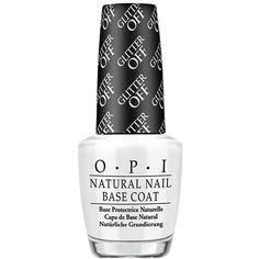 Best New Nail Care | OPI Glitter Off Peelable Base Coat