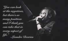 Leondre Devries - Quote
