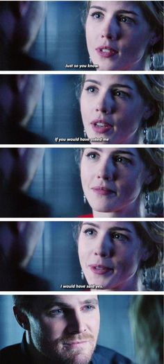 Arrow - Oliver & Felicity #4.9 #Olicity <3