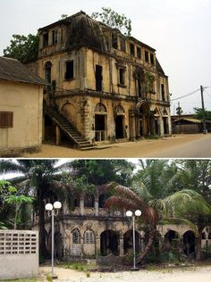 The grand colonial architecture of Grand-Bassam stems from its tenure as the French capital of Côte d'Ivoire. The French colonial government abandoned the city in 1896, and Grand-Bassam's commercial dealings diminished from that point onwards. By 1960 – the same year Côte d'Ivoire gained independence from France – Grand-Bassam was all but a ghost town and has remained that way, despite a recent surge in tourism.