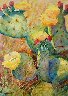 CACTUS BOUNTY_(available as giclee print)