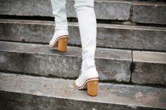 Moda en la calle en la Semana de la Alta Costura enero 2014 © Josefina Andrés Grand Palais, Vogue, Women's Accessories, Knee Boots, Fashion Shoes, Footwear, Street Style, Fashion Weeks, Barcelona