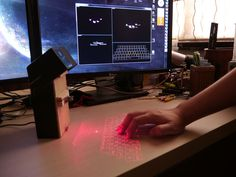 Laser Projection Keyboard I think this is certainly gonna be really cool
