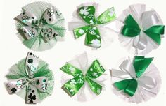 AC0916 - St. Patick's Day Hair Bow Collection