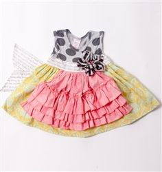 Apron dresses are so trendy and adorable on little girls!!!!