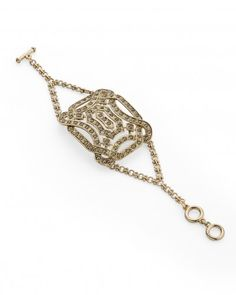Art Deco inspired bracelet. | More on the myLusciousLife blog: www.mylusciouslife.com