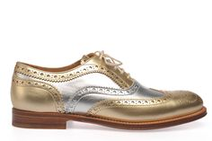 Silver and gold! Church's shoes