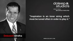 """""""Inspiration is an inner string which must be tuned often in order to play it.""""  #business #entrepreneur #fortune #leadership #CEO #achievement #greatideas #quote #vision #foresight #success #quality #motivation #inspiration #inspirationalquotes #domore #dubai#abudhabi #uae www.doleep.com"""
