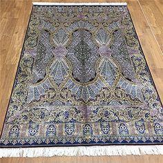 Camel Carpet Purple Hand Made Living Room Silk Turkish Carpets 4'x6' http://www.amazon.com/dp/B01DBK9BCI/ref=cm_sw_r_pi_dp_b5bixb1HX21PZ