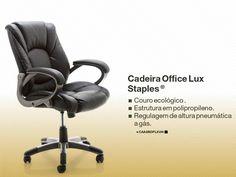 CADEIRA OFFICE LUX™ STAPLES®