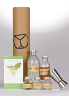 Shaken's Subscription Gift Service Provides a Monthly DIY Cocktail Kit #drink #delivery trendhunter.com