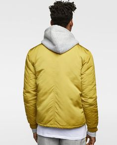 Image 3 of QUILTED BOMBER JACKET from Zara