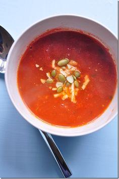 Skinny Jeans Food: Fast Vegan Tomato Soup