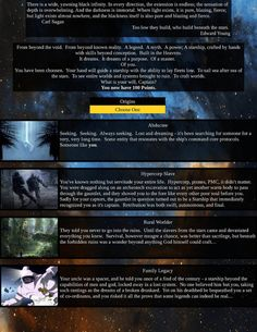 Post with 269 votes and 15066 views. Tagged with cyoa, create your own adventure; Shared by Built in the Heavens CYOA Cyoa Games, Create Your Own Adventure, Image Sites, Darkest Dungeon, Dungeons And Dragons Homebrew, Carl Sagan, Made In Heaven, Trending Memes, Viral Videos