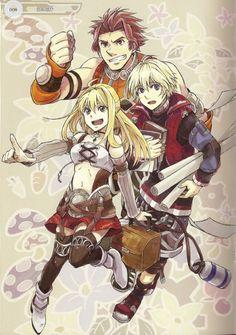 Xenoblade Chronicles - Time for work! (Reyn,Fiora and Shulk)