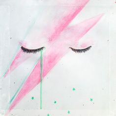 Ylenia Marino, illustration in memory of David Bowie - Masonry / Massoneria Creativa - www.massoneriacreativa.com