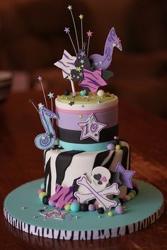 Designs for teens cake