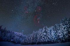 Mliečna dráha v zime