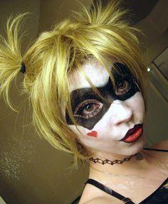 Harley Quinn Makeup Experiment by DecayedxElegance.deviantart.com