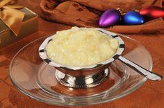 Kokosmilch-Vanillereis mit Apfel und Rosinen Rezept