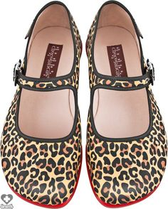 Hot Chocolate Shoes - Lepardo Flats - Buy Online Australia Beserk