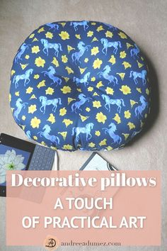 Tired of the mainstream bed bath and blah? Looking for a bright accent in your r. Tired of the mainstream bed bath and blah? Looking for a bright accent in your r. Tired of the mainstream bed bath and. Diy Pillows, Floor Pillows, Accent Pillows, Decorative Pillows, Pillow Ideas, Blue Horse, Pillow Room, Colorful Pillows, Nursery Room Decor