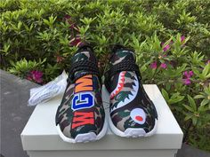 2017 Adidas human race nmd X bape come out size 40-45