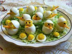 Big birds devilled eggs