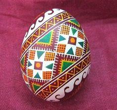 Pisanka Real Top QUALTIY Ukrainian Easter Egg Basket Decoration Very Nice Color | eBay
