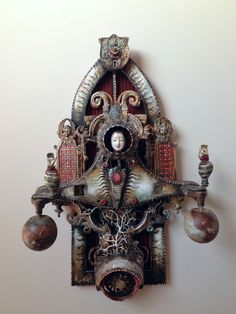 ON THE EASEL: Wizard of Odds - Glinda — The Assemblage Art of Michael deMeng