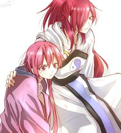 Magi: The Labyrinth of Magic// Ren Kouha and Ren Koumei