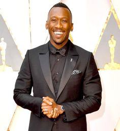 Actor Mahershala Ali attends the Annual Academy Awards at Hollywood & Highland Center on February 2017 in Hollywood, California. (Photo by Steve Granitz/WireImage) </p> My Black Is Beautiful, Beautiful Men, Beautiful People, Beautiful Things, Oscar Fashion, Fashion Show, Men's Fashion, Mahershala Ali, Best Supporting Actor