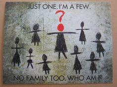 Orphan Black Helena Stick Figure Postcard by pleasedeliverto