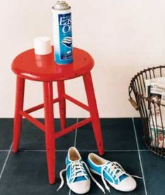 Frugal Tip: Use Starch to Protect your shoes