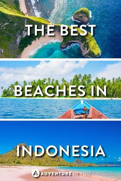 Indonesia Beaches | Looking for the best beaches and island in Indonesia? Here are a few of our top picks which we can't stop looking at!