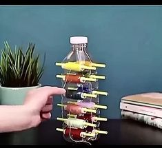 Diy Crafts For Home Decor, Diy Crafts Hacks, Diy Crafts For Gifts, Diy Arts And Crafts, Sewing Lessons, Sewing Hacks, Sewing Projects, Diy Projects, Plastic Bottle Crafts