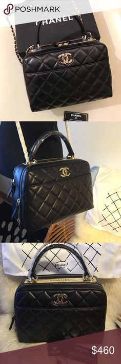 Chanel crossbody bag Chanel crossbody bag. Pls don't ask the ovious question. I wanna avoid hassle so pls read before you purchase or ask question. Its the best quality. No box, with carecard, authenticity card & tag. CHANEL Bags Crossbody Bags