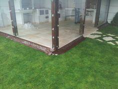 Sistem folie transparenta 0.8 mm prindere prin capse si bride, Culoarea ALB. Random Design 0722680560 www.randomdesign.ro