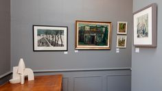 Festive Show 2014, at the Andelli Art gallery in Wells, Somerset. The gallery is run by art dealer Ellie Jones