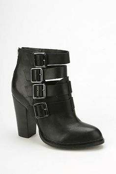 Gadget Buckled Ankle Boot - Urban Outfitters
