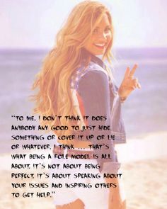 demi lovato quotes | demi lovato, quotes, sayings, role model | Favimages.net