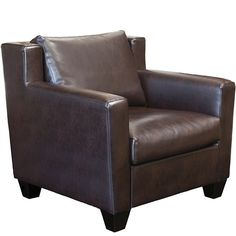 Jack Leather Club Chair - JCPenney