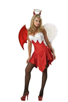 Devil Costumes | Sexy Angel Devil Costume for Women  sc 1 st  Pinterest & 139 best Career Costumes images on Pinterest | Adult costumes ...