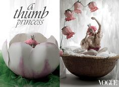 vogue girl korea: a thumb princess