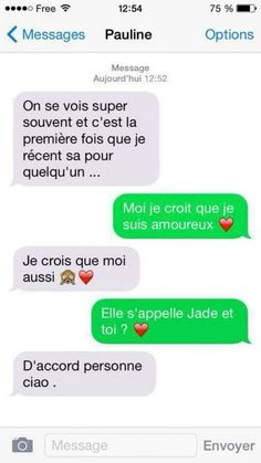 On se vois super souvent - Humour-France. Funny Sms, Funny Messages, Funny Texts, Funny Jokes, 9gag Funny, Memes Humor, Flirting Humor, Flirting Quotes, Friendzone