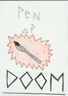 Anaklusmos Pen   Pen of Doom