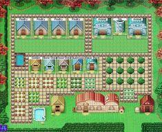 Harvest Moon DS - Best farm placement